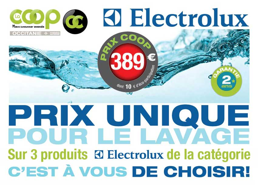 PromoLavageElectrolux